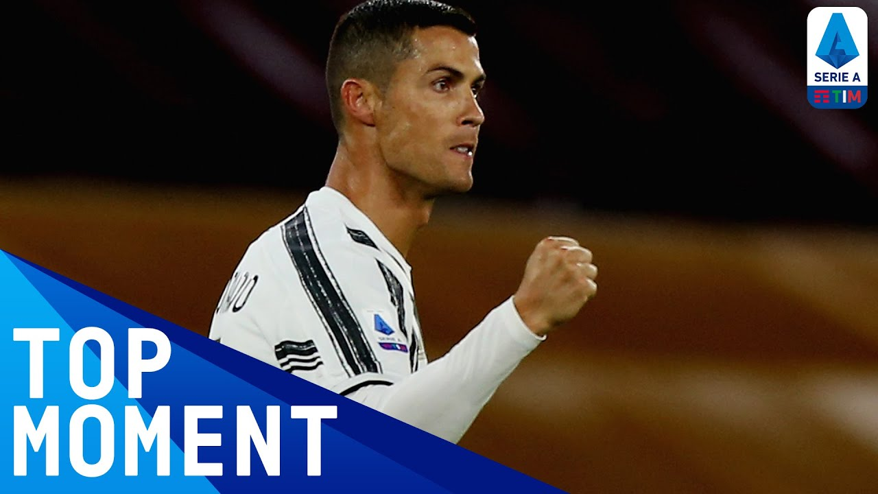 CR7 Salvages a Point with a Towering Header from Danilo's Cross! | Roma 2-2 Juventus | Serie A TIM