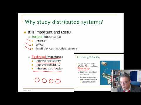 Lecture 1. Unit 1. Introduction to distributed systems (compact)