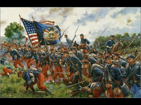 Keith Rocco - The Final Stand | American Civil War Art ... |American Civil War Battle Paintings