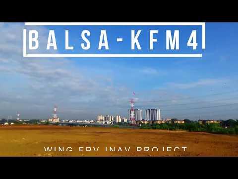 Diy 750mm KFm4 iNAV - Fully Balsa