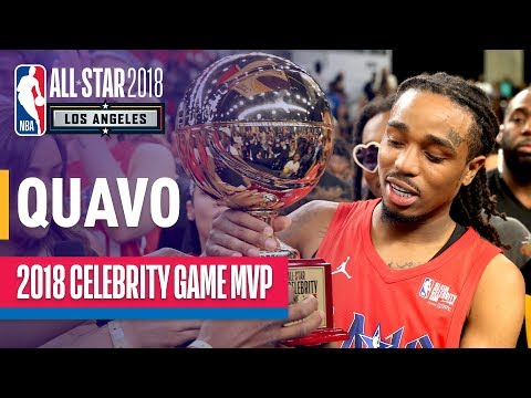 Quavo's MVP Performance In The 2018 Celebrity All-Star Game