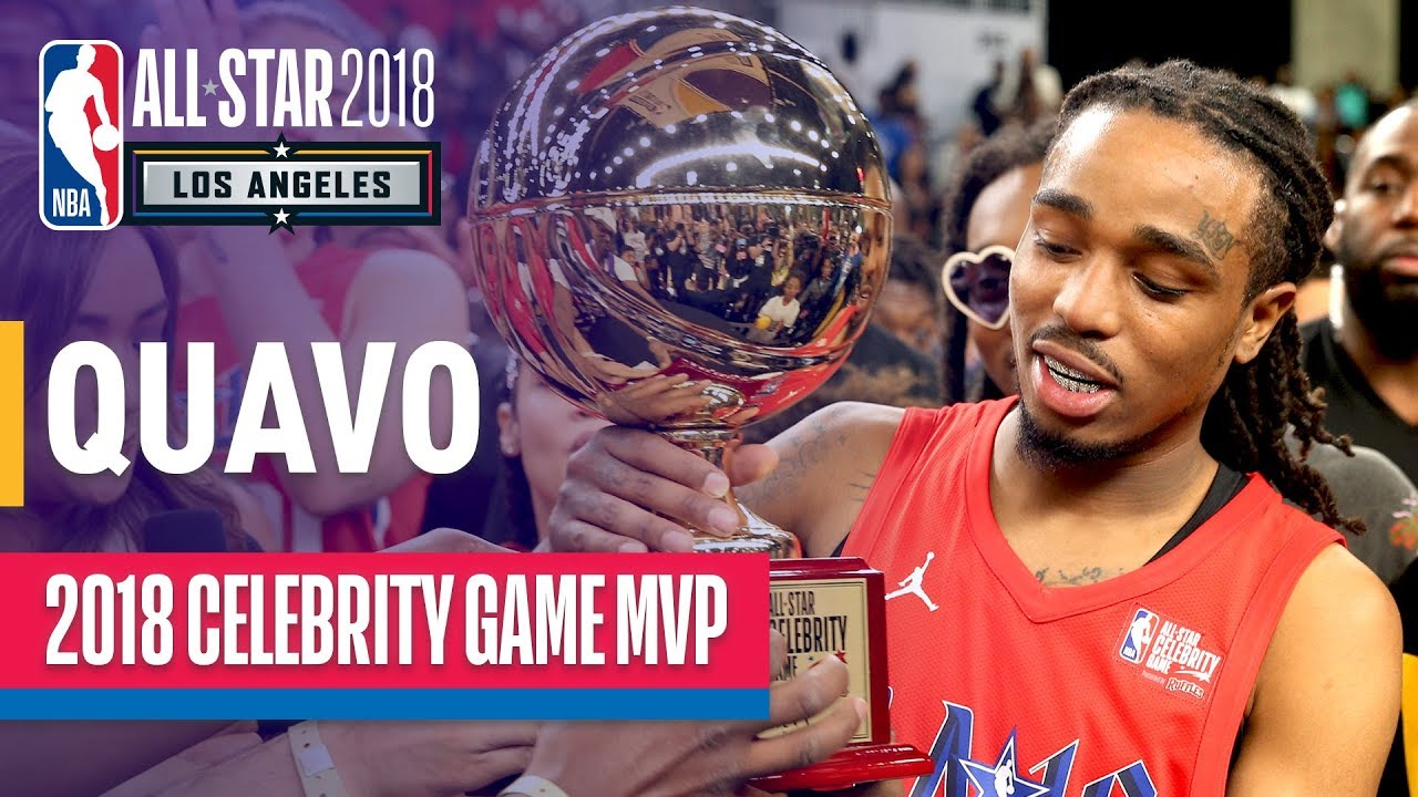 Quavo s MVP Performance In The 2018 Celebrity All-Star Game ... d976edd88