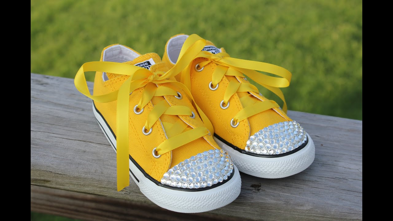 How To Make Bling Baby Shoes