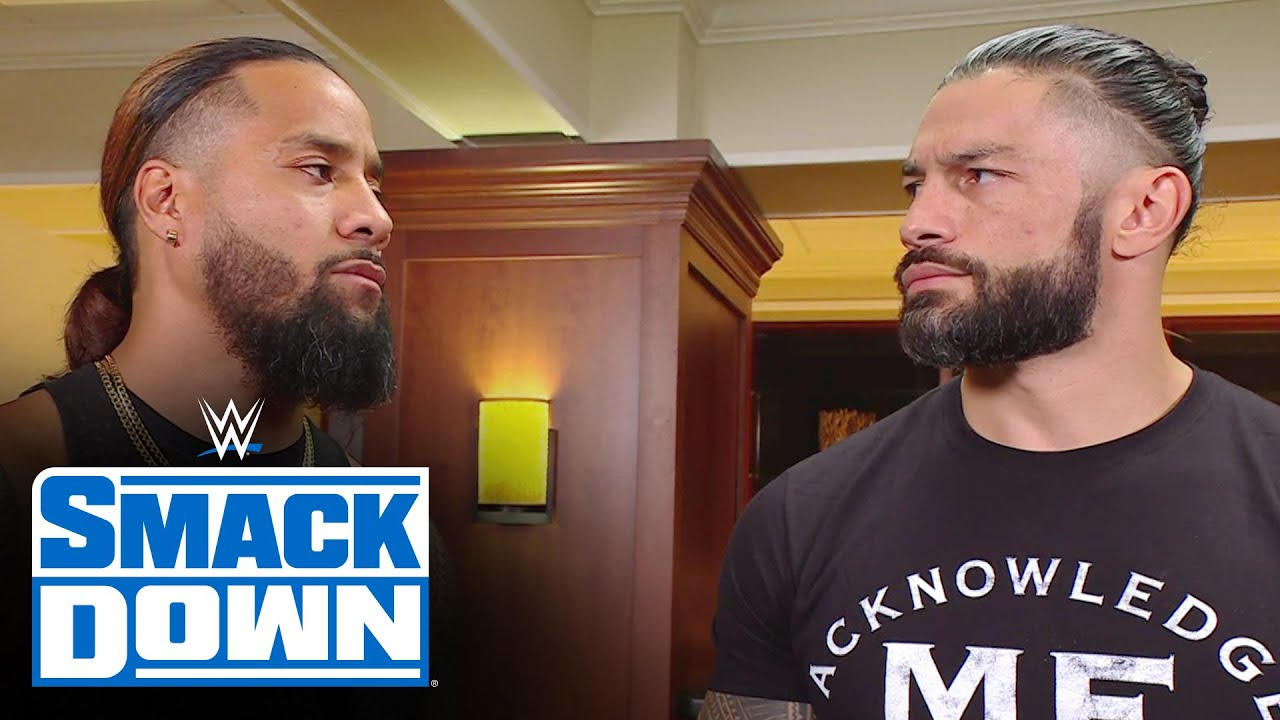 Download Jimmy Uso acknowledges to Roman Reigns that family comes first: SmackDown, June 18, 2021