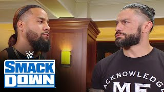 Jimmy Uso acknowledges to Roman Reigns that family comes first: SmackDown, June 18, 2021