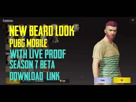 HOW TO GET BEARD LOOK IN PUBG MOBILE | BETA VERSION