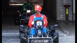 Play Real Life Mario Kart