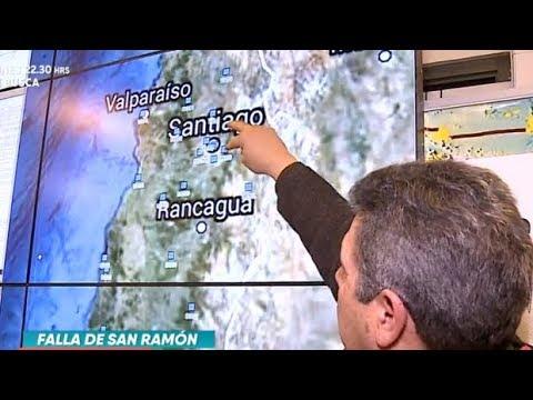 Detectan actividad en falla de San Ramón - La Mañana