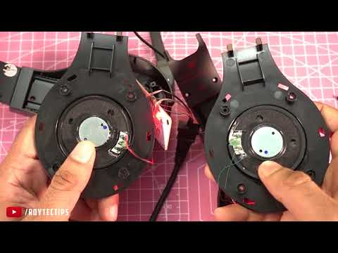 Chinese Gaming Headset Teardown - Don't Buy This Crap.