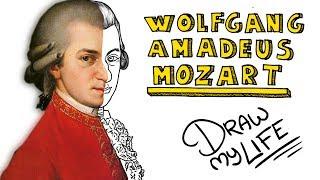 WOLFGANG AMADEUS MOZART | Draw My Life En Español