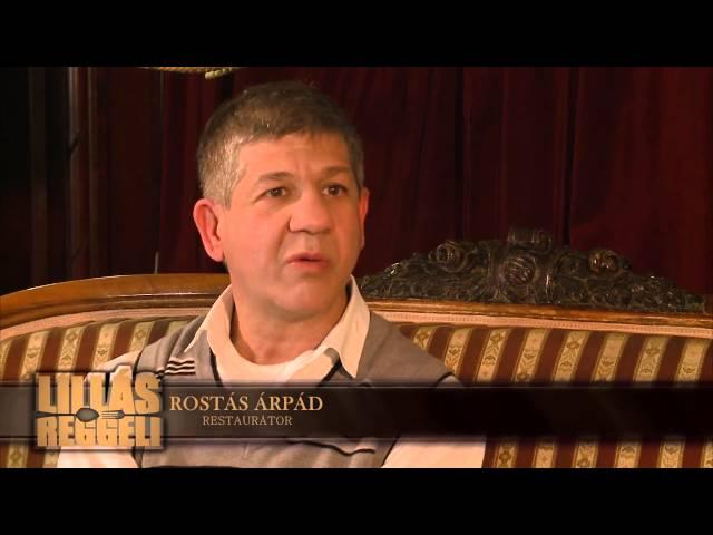 Lillásreggeli vendég  Rostás Árpád