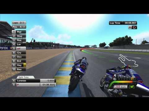 MotoGp 13 Game Play Pt2  