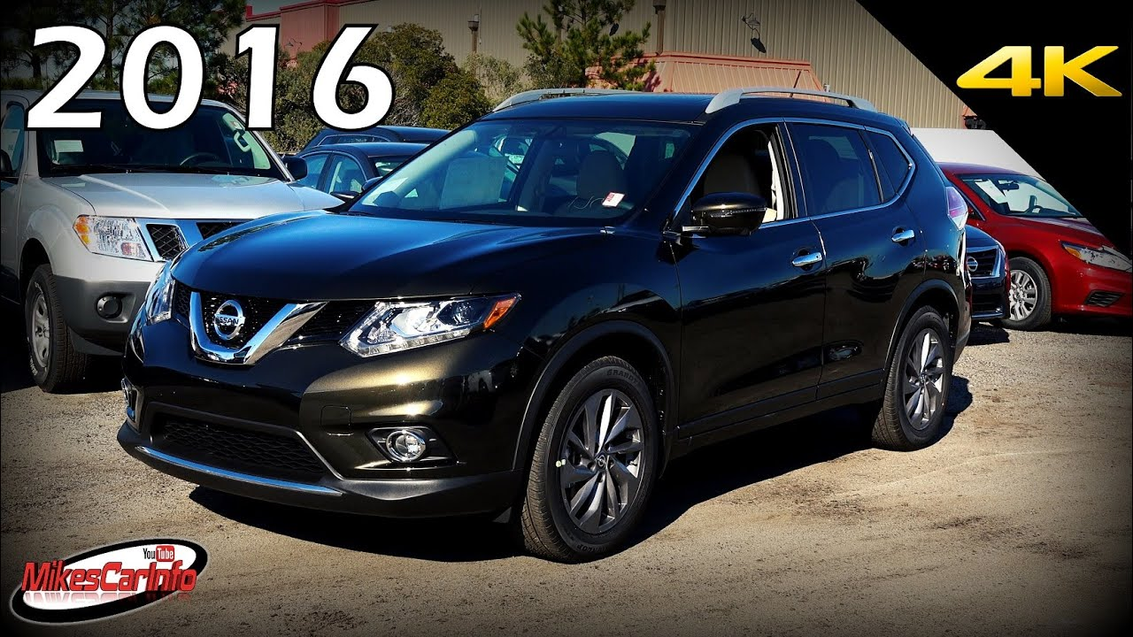2016 nissan rogue sl ultimate in depth look in 4k youtube. Black Bedroom Furniture Sets. Home Design Ideas
