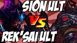 rek sai ult vs sion ult void rush vs unstoppable onslaught by lol clash combo lolclash