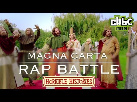Horrible Histories - Epic Magna Carta Rap Battle - CBBC