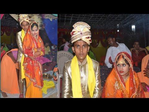 Traditional Indian wedding Kanyadan ,sindurdaan and bidayi