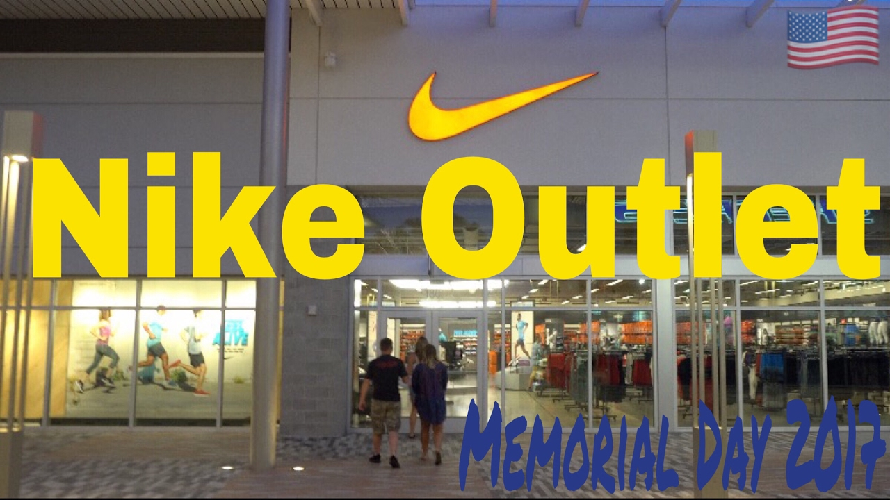 nike outlet memorial day sale
