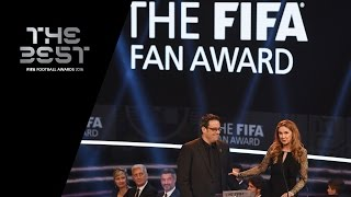 THE FIFA FAN AWARD 2016 -  Borussia Dortmund and Liverpool Supporters