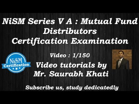 NISM mutual fund exam  tutorial  : Unit 5 - Individual and InstitutionalDistribution Channels