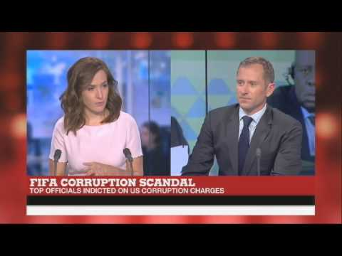 Live studio chat on FIFA arrests for France 24