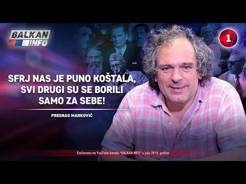 INTERVJU: Predrag Marković - SFRJ nas je puno koštala, jer su se drugi borili za sebe! (19.7.2019)