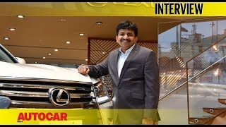 N Raja | Lexus India | Interview | Autocar India