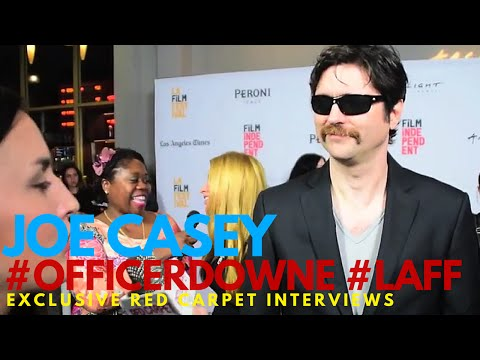 "Joe Casey interviewed at the World Premiere of ""Officer Downe"" Los Angeles Film Festival #LAFF"