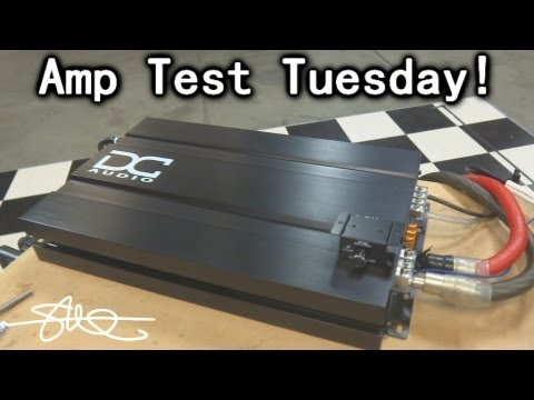 Amp Test Tuesday - DC Audio 1.2k - Rated 1200 watts RMS - SMD AD-1 Amp Dyno