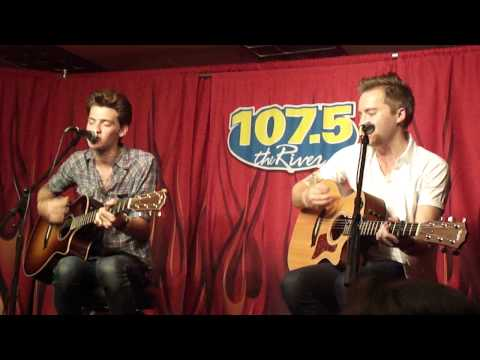 baby blue eyes (acoustic) -a rocket to the moon, nashville @ 107.5