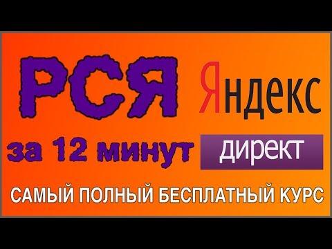 РСЯ для начинающих. РСЯ 2019. Яндекс Директ РСЯ.