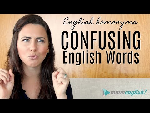 Confusing English Words! | HOMONYMS | Fix Common Vocabulary Mistakes & Errors