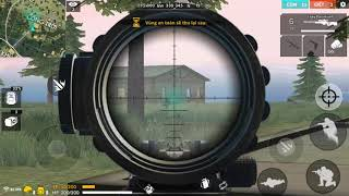 Free fire chi dung AWM lay top 1