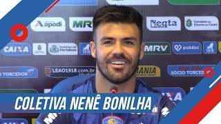 Coletiva com Nenê Bonilha   Fortaleza x Londrina/PR   Série B 2018   TV Leão