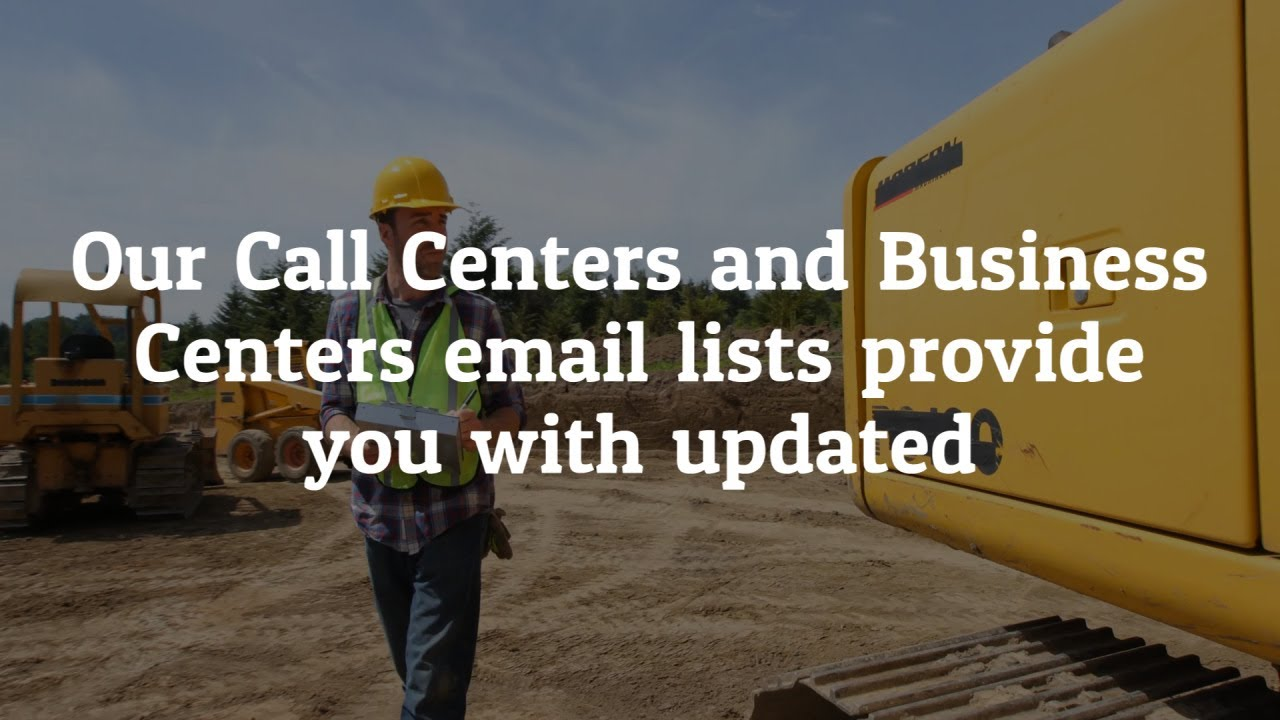 List Of Call Centers Call Centers And Business Centers Email List Providers