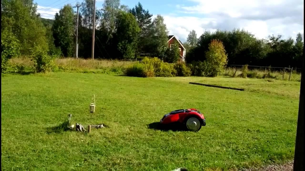 Nya Meec robotgräsklippare från jula - YouTube MW-08