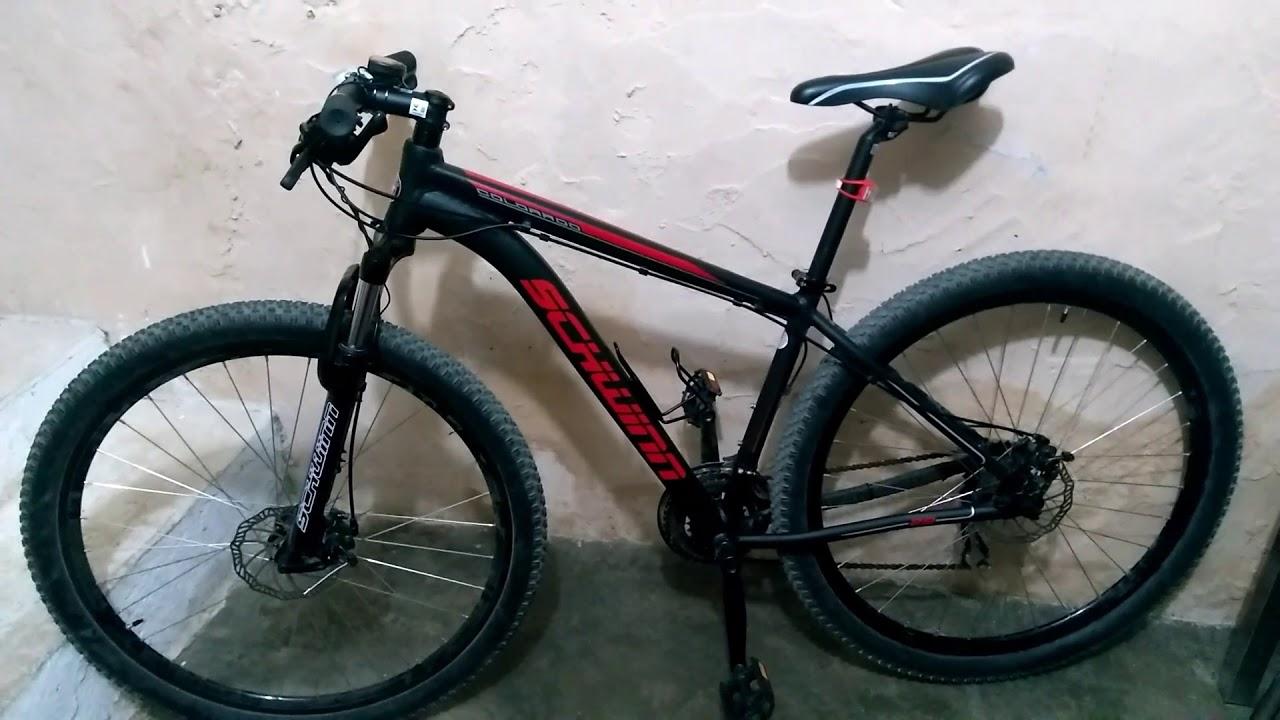 dfef70f1e Minha nova bike Schwinn Colorado - YouTube