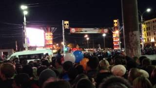 Тула 14 октября 2013 - Олимпийский огонь СОЧИ 2014 - Видео 6(, 2013-10-14T18:02:44.000Z)