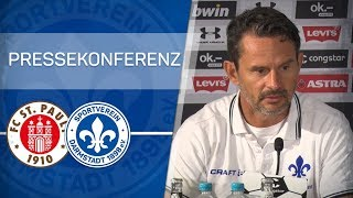 Darmstadt 98 | Pressekonferenz nach FCSP-D98