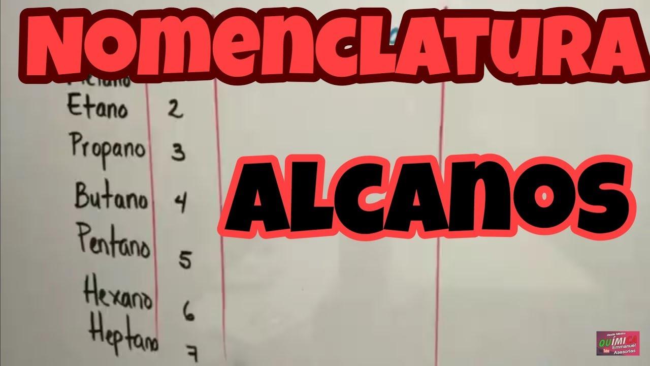 Alcanos Nomenclatura (Parte 1) by EMMANUEL ASESORÍAS