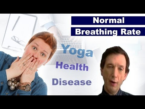 Normal Respiratory Rate - Breathing Frequency (Health, Disease, Yoga, ...)