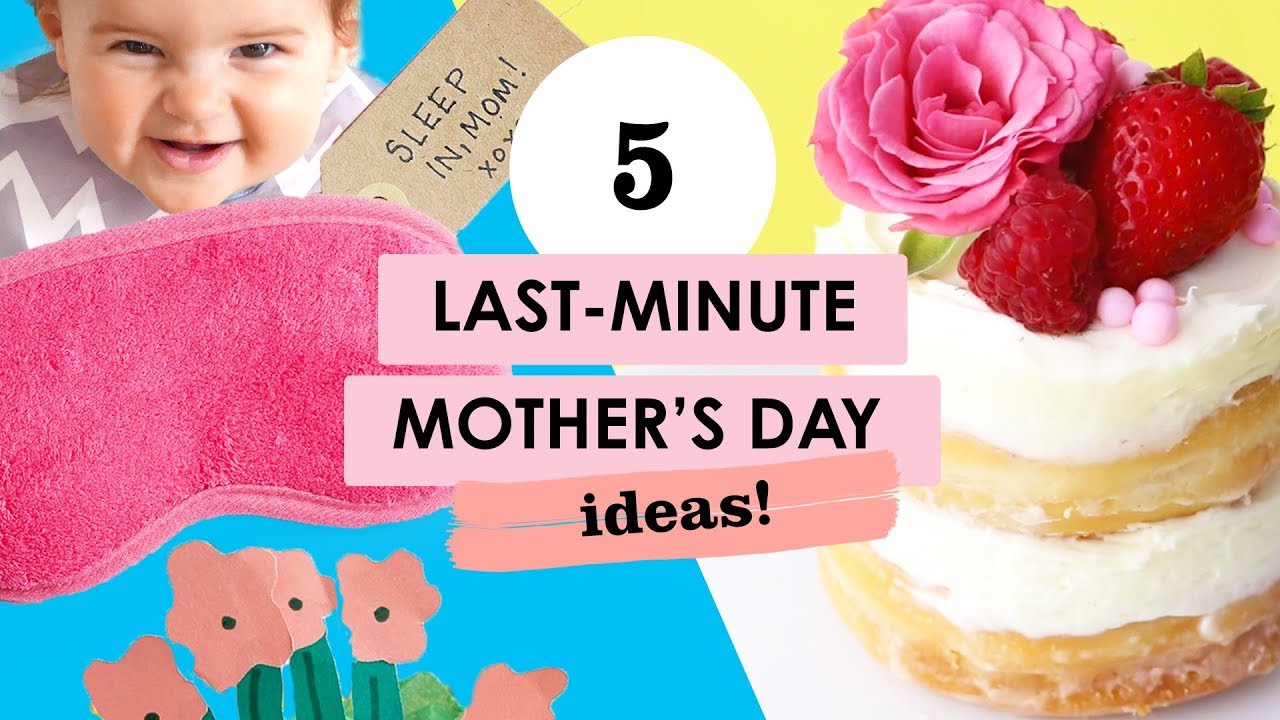 5 Last-Minute Gifts For Moms & Grandmas