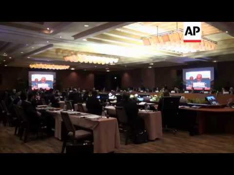 APEC finance ministers meet ahead of leaders' meeting next month