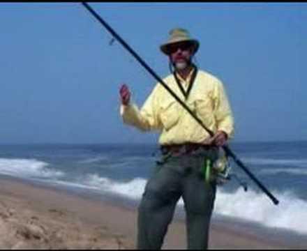 Surf fishing survival