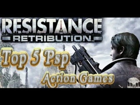 Top 5 PsP Action Games Ever .