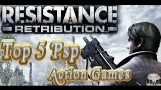 Top 5 PsP Action Games Ever . (2018 - HD)