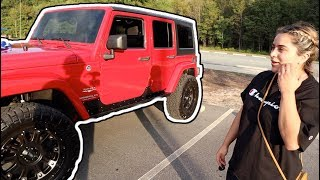 SURPRISING MY GIRLFRIEND WITH HER DREAM CAR! *very emotional*