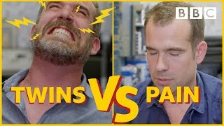 Can these identical twin doctors beat pain without pills? - BBC