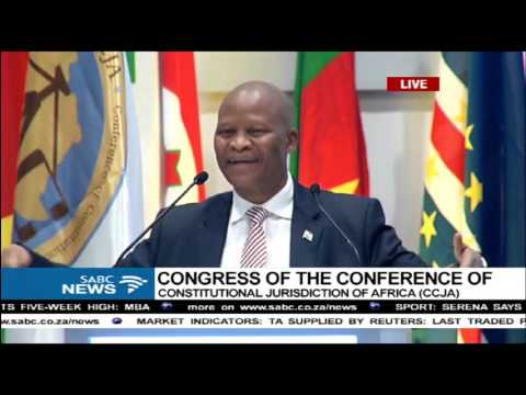 Chief Justice Mogoeng's keynote address at the 4th CCJA Congress