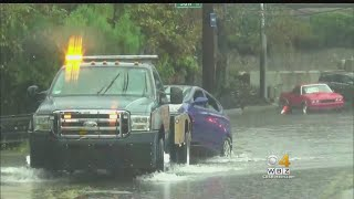 Florence causes parts of Massachusetts to have heavy floods and win...
