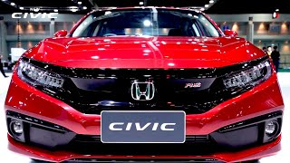 2022 Honda CIVIC - Sporty Sedan! | New Look & Impressive Features ! | Honda Civic 2022